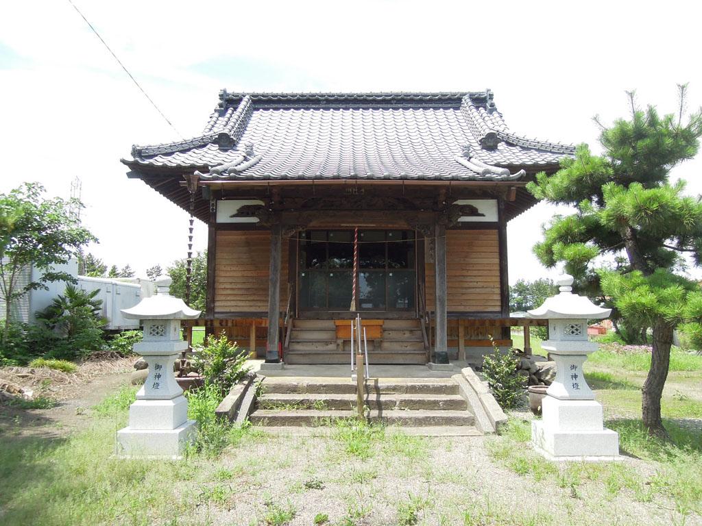 島名神社(島野町)拝殿