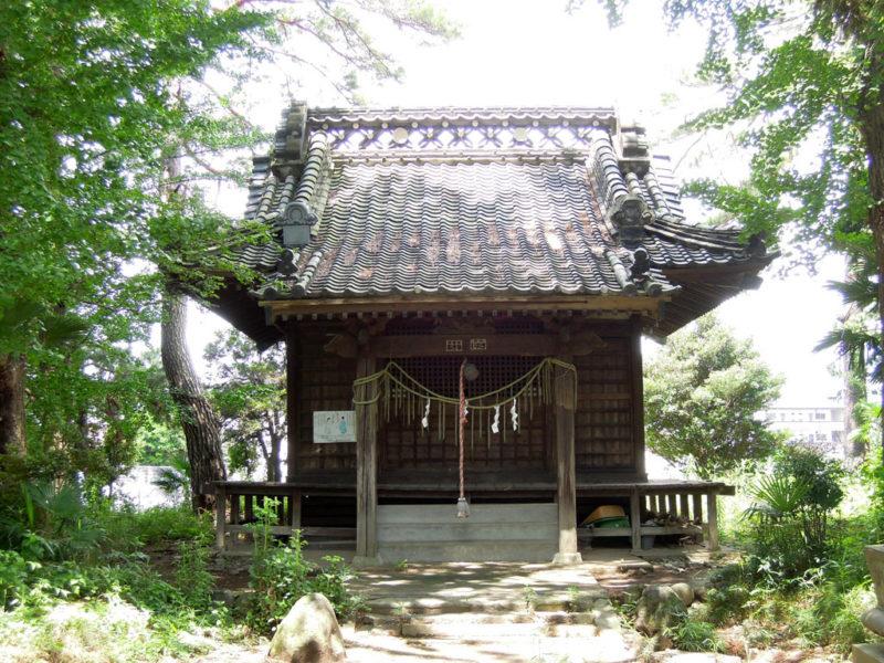 大住神社(南大類町) 拝殿
