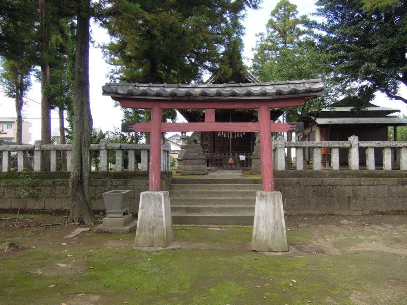 飯玉神社(中尾町) 鳥居