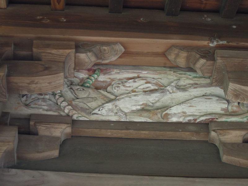飯玉神社(中尾町) 彫刻