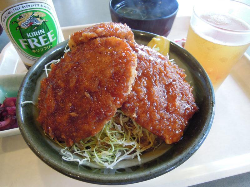飯玉神社(中尾町) となりの天神の湯 ソースカツ丼