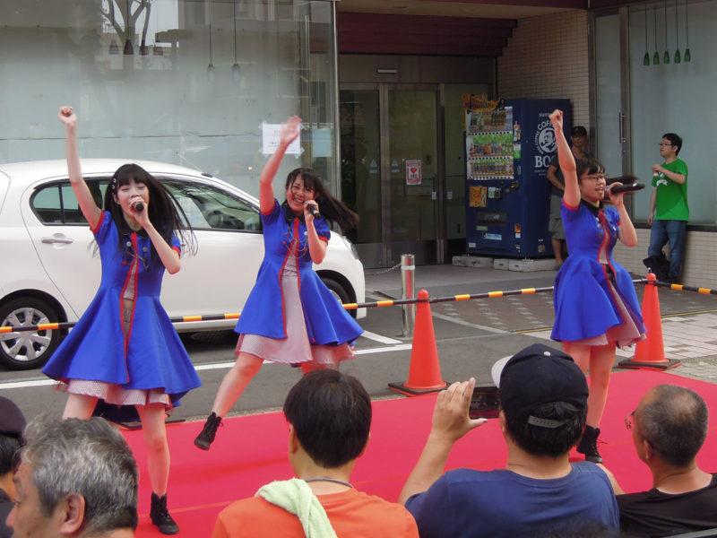 千葉市 親子三代夏祭り アイドル