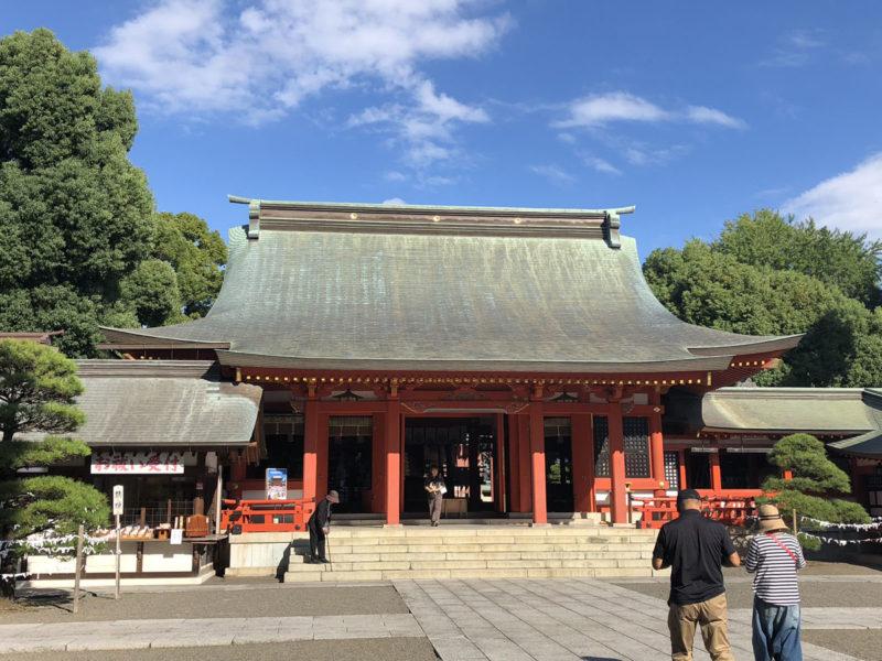 藤崎宮 拝殿