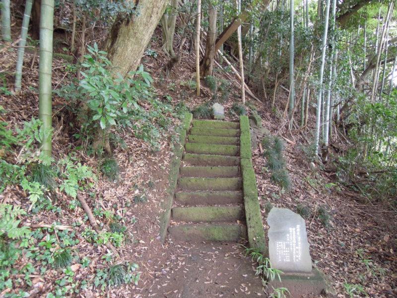 星神社(大生城)階段