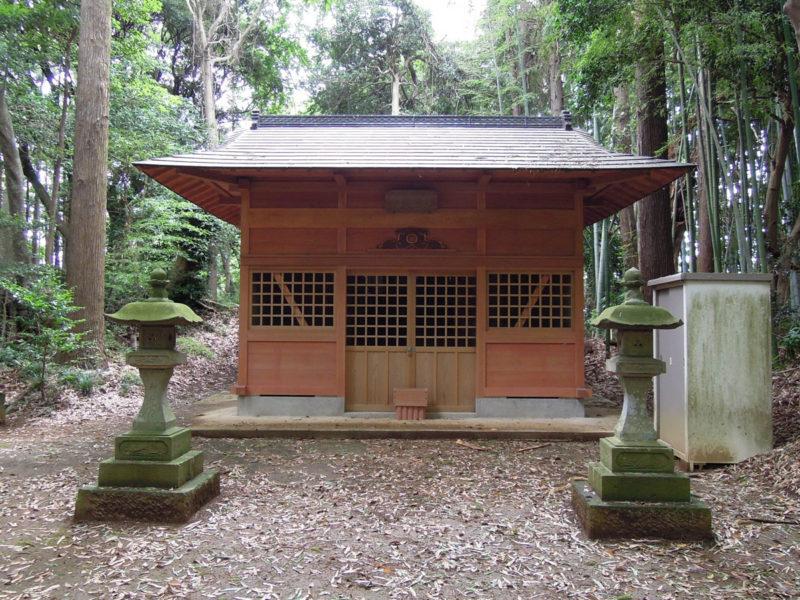 星神社(大生城)拝殿