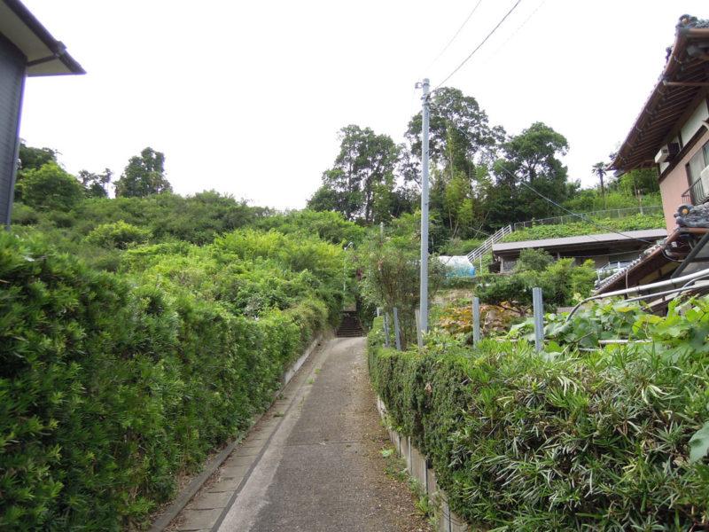星神社(東和泉城)入り口