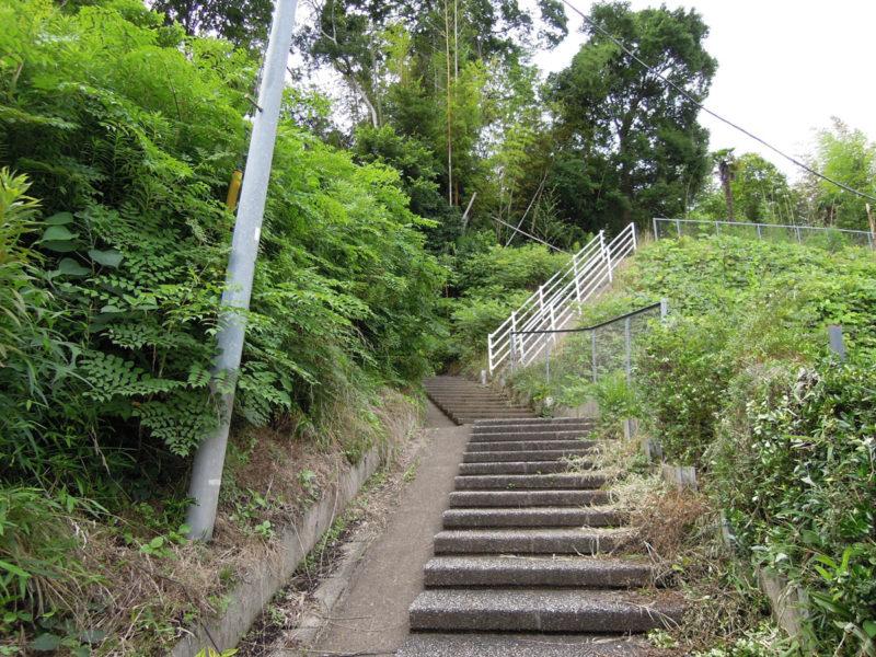 星神社(東和泉城)階段