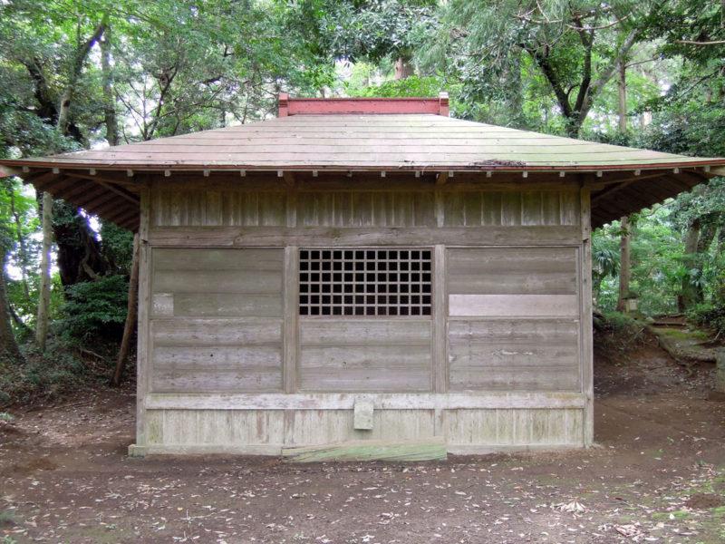 星神社(東和泉城)拝殿