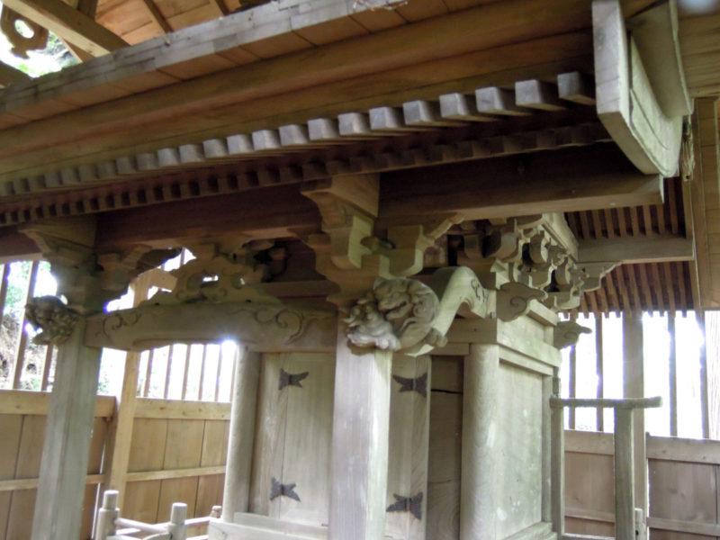 星神社(東和泉城)本殿