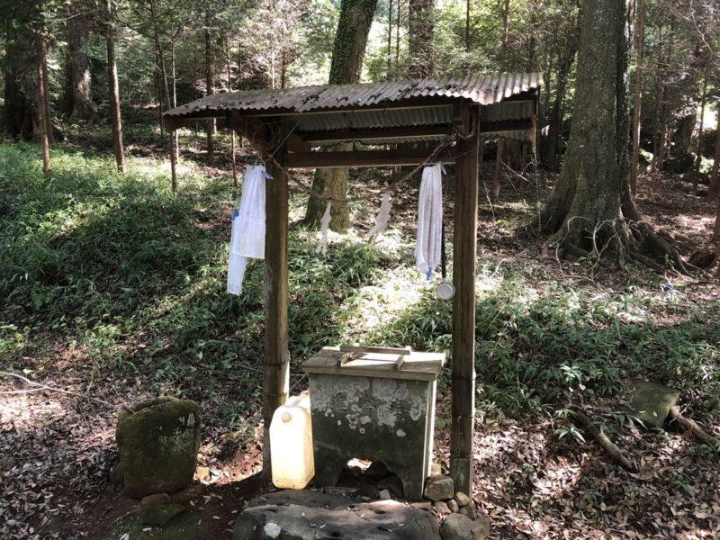 兎谷金山彦神社 手水舎