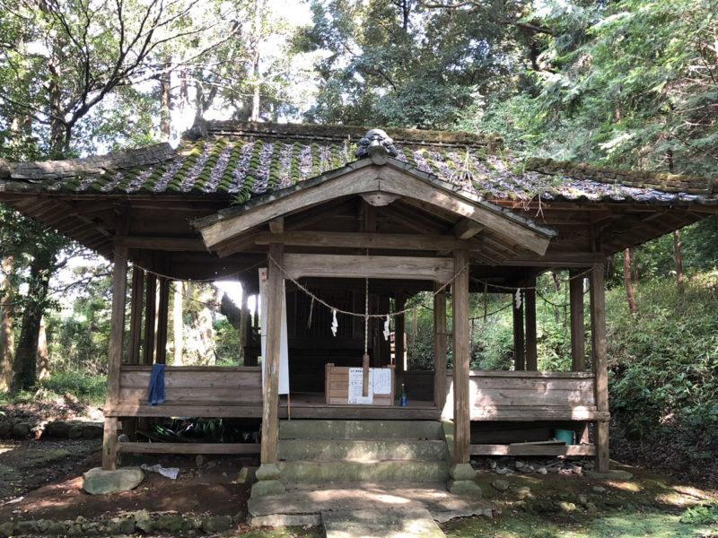兎谷金山彦神社 拝殿