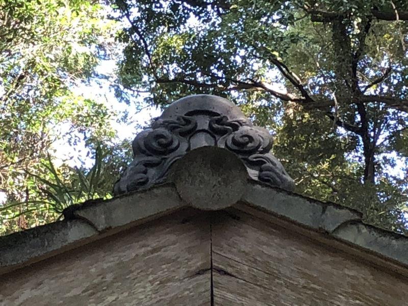 兎谷金山彦神社 鬼瓦