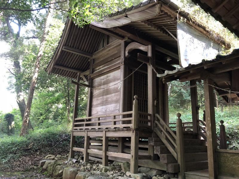兎谷金山彦神社 本殿