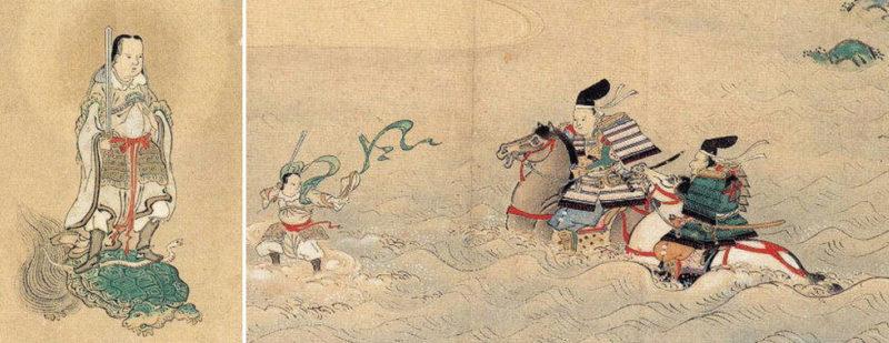 千葉妙見大縁起絵巻(栄福寺所蔵)