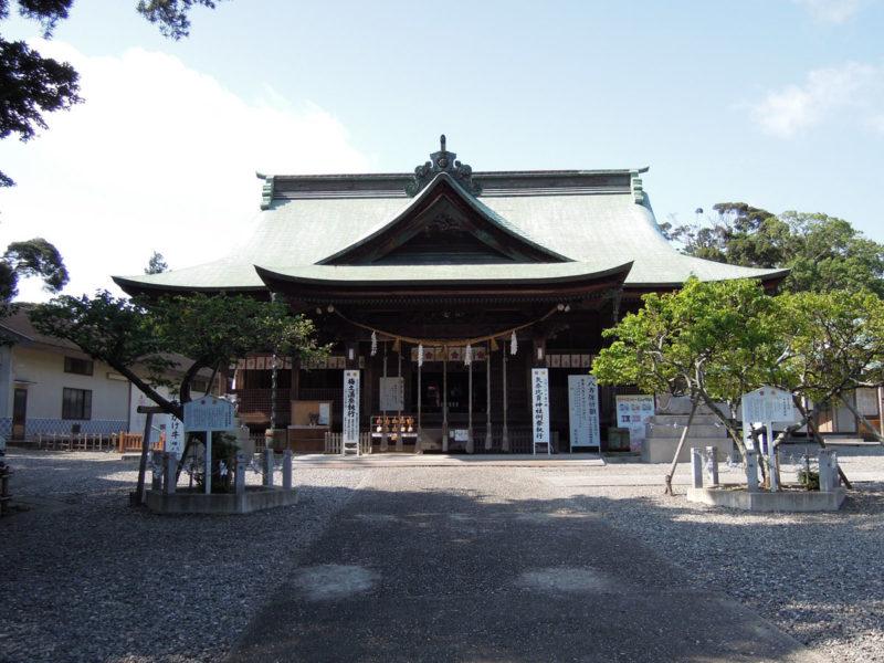 矢奈比賣神社 拝殿