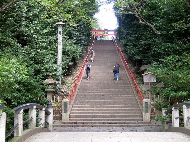 仙台 大崎八幡宮 階段