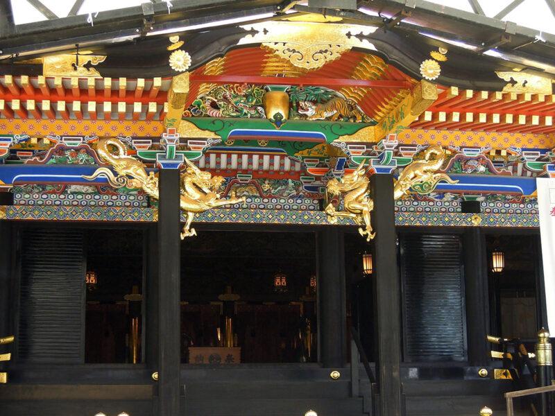 仙台 大崎八幡宮 本殿装飾