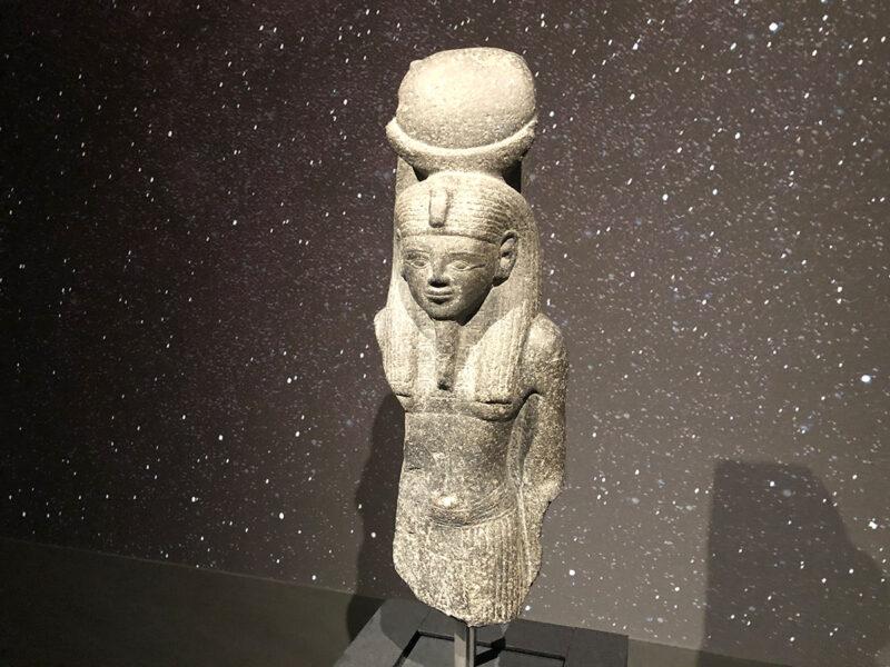 エジプト展 コンス神像