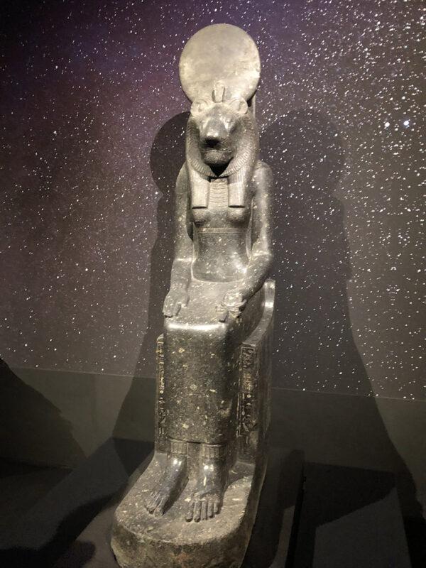 エジプト展 セメクト女神像