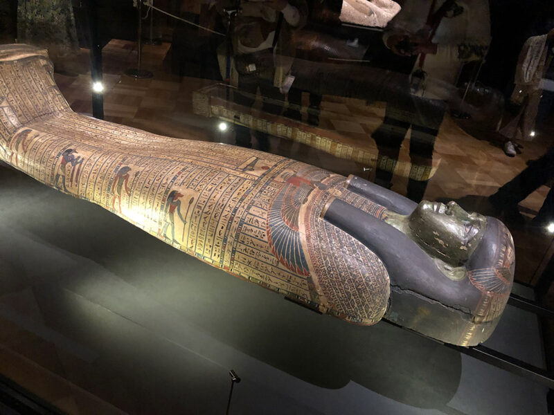 エジプト展 柩