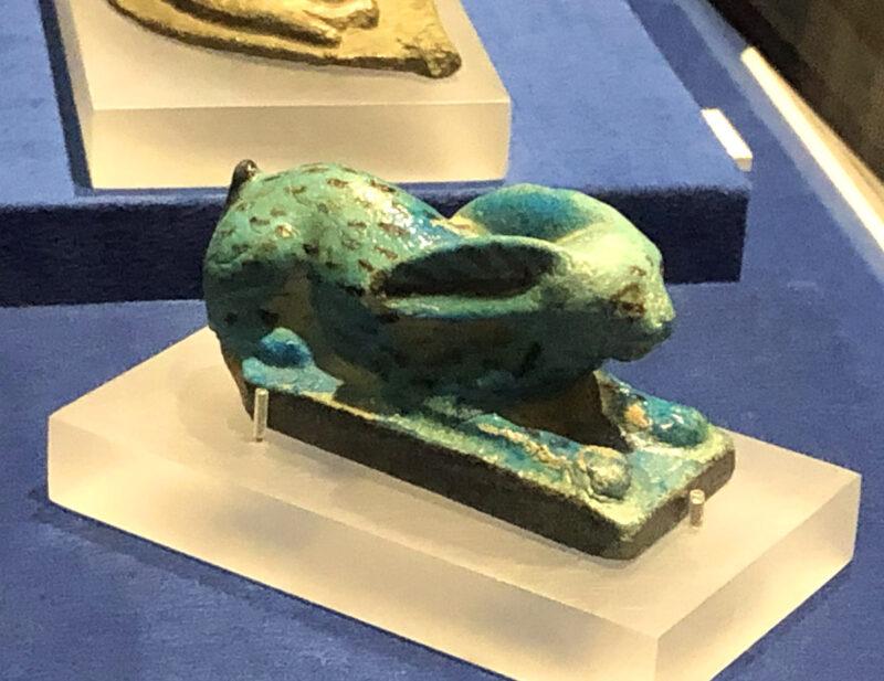 エジプト展 野うさぎの像