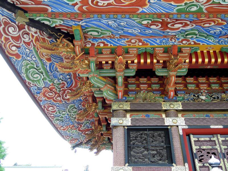 成田山新勝寺 三重塔 装飾