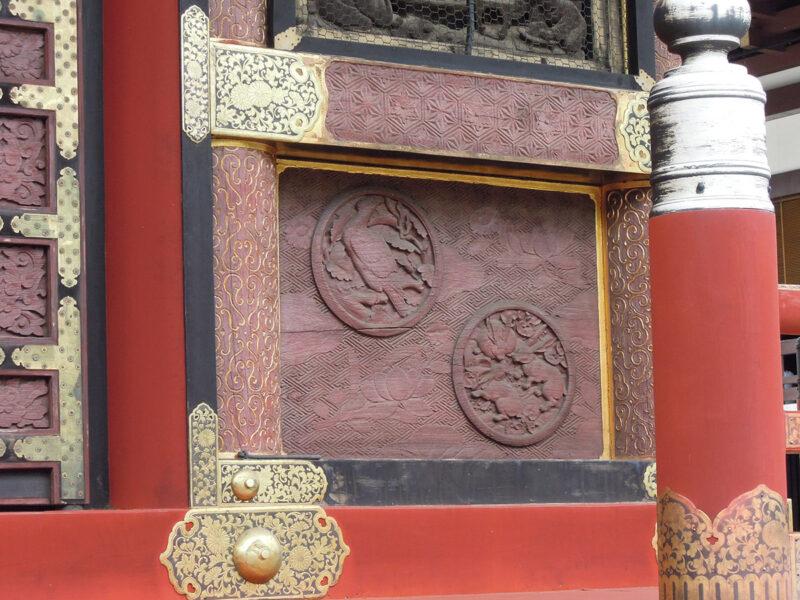 成田山新勝寺 三重塔 彫刻