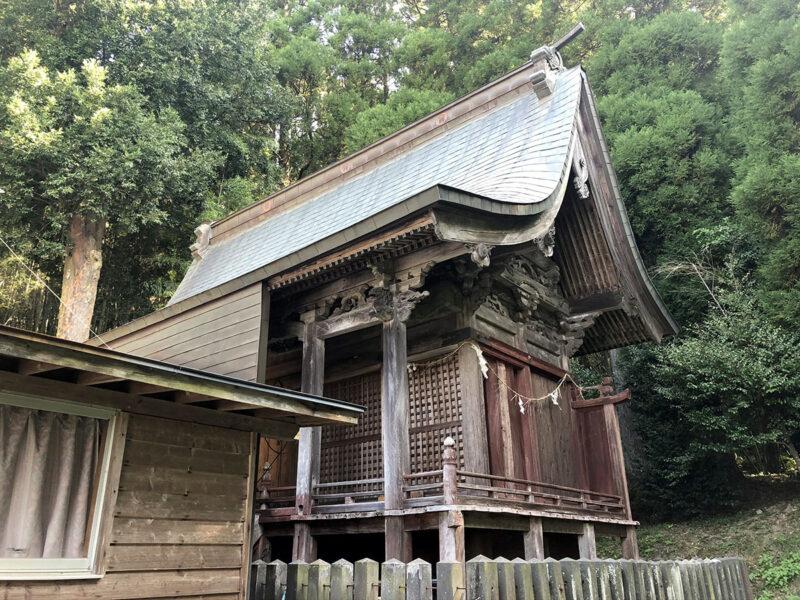 玉名山部田熊野座神社 本殿